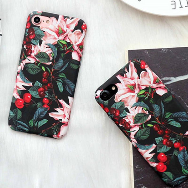 """Floral"" iPhone Case - LovelyMojo"
