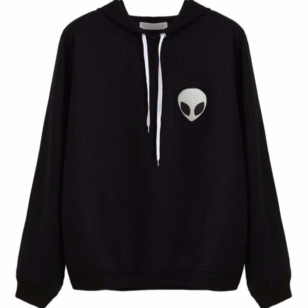 Alien Pocket Hoodies - LovelyMojo