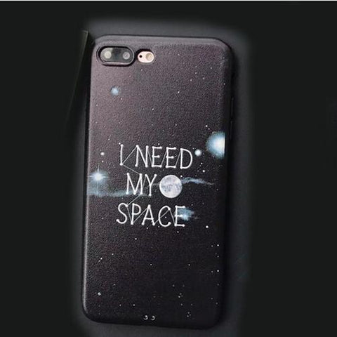 """I Need My Space"" iPhone Case"