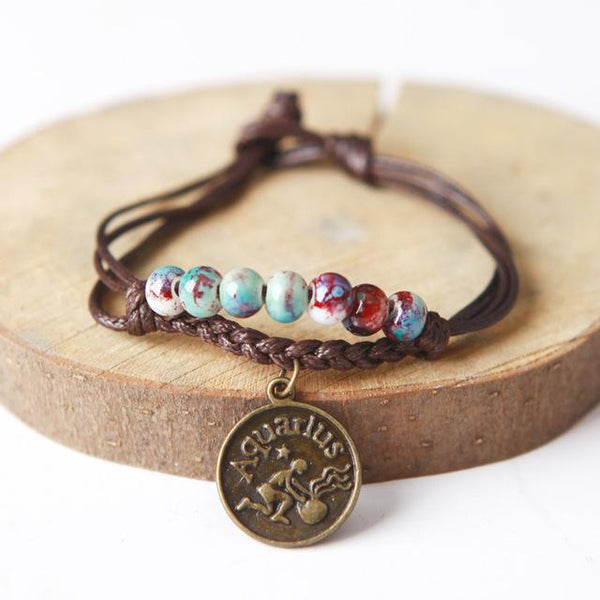 FREE Zodiac Charm Bracelet - FLASH SALE - LovelyMojo