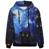 Red & Blue Galaxy Hoodie Bundle - LovelyMojo
