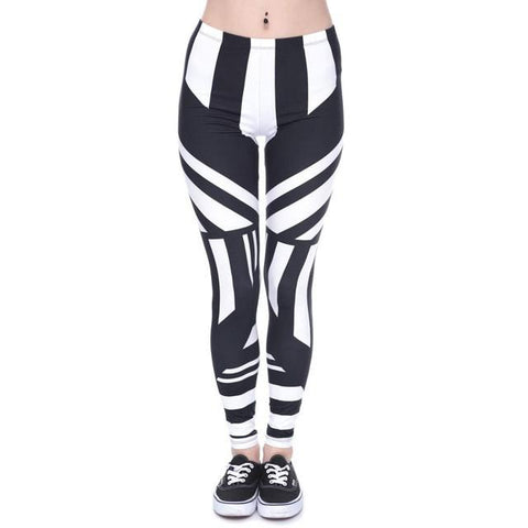 """Black & White"" Leggings - LovelyMojo"