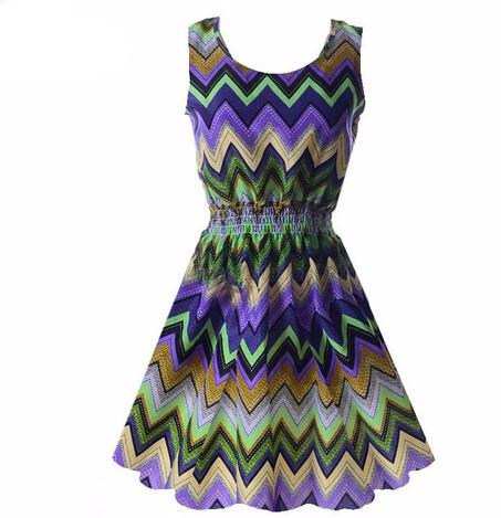"""NightLights"" Summer Dress - LovelyMojo"