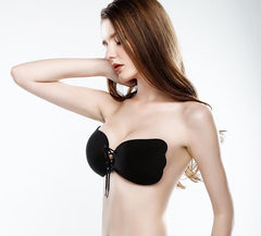 LovelyBust Backless Push Up Invisible Bra