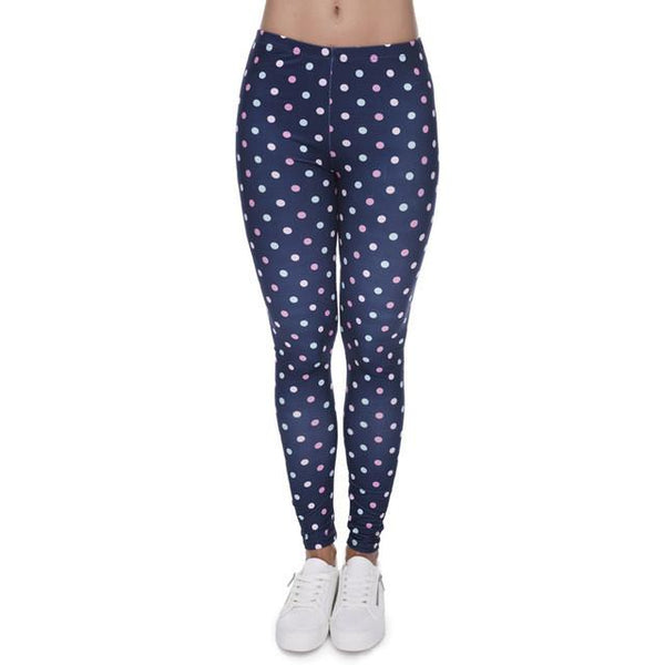 """Polka Dot"" Leggings - LovelyMojo"