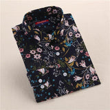"""Dark Flowers"" Women's Shirt - LovelyMojo"