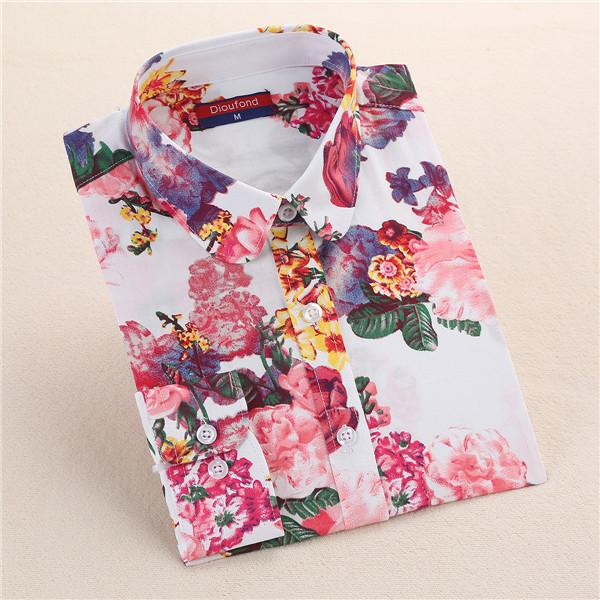 """White Bloom"" Women's Shirt - LovelyMojo"