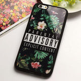 """Parental Advisory"" iPhone Case - LovelyMojo"