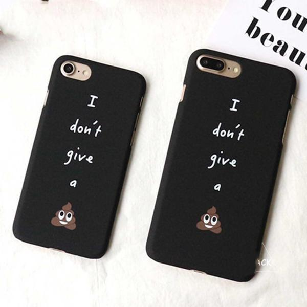 """I Don't Give A Shit"" iPhone Case"