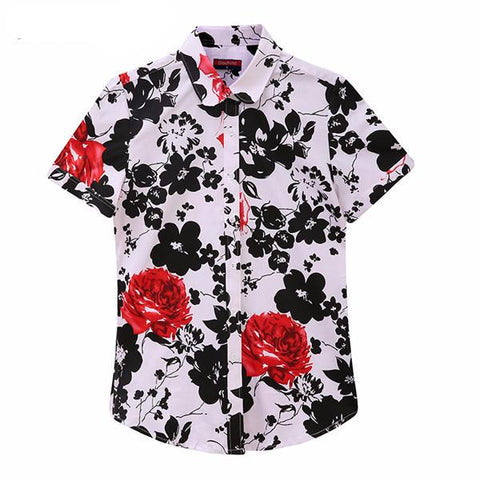"""Floral Art"" Blouse Shirt - LovelyMojo"