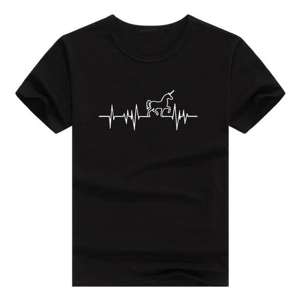"""Heartbeat"" T-Shirt - LovelyMojo"