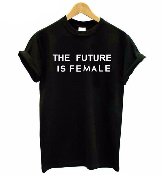 """The Future Is Female"" T-Shirt - LovelyMojo"