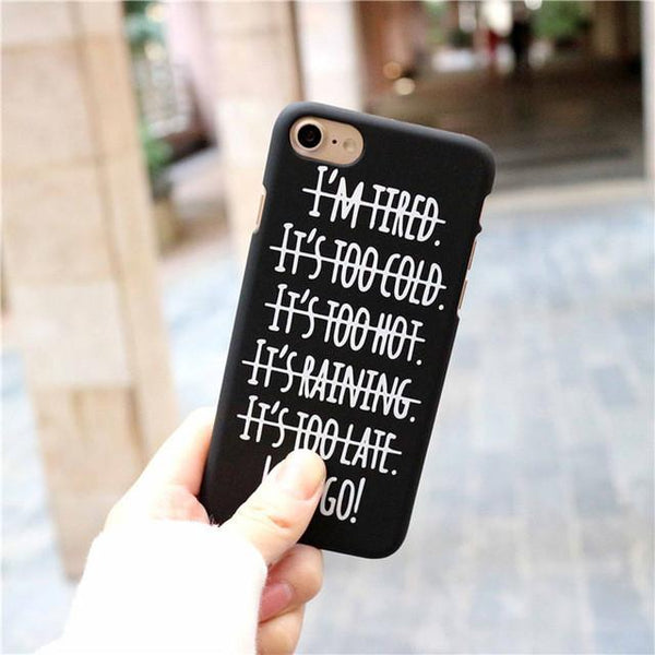 """Lets Go"" iPhone Case - LovelyMojo"