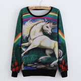 """Unicorn"" Sweatshirt - LovelyMojo"