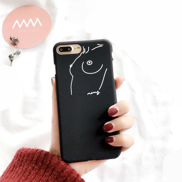 """Free The Nipple"" iPhone Case - LovelyMojo"