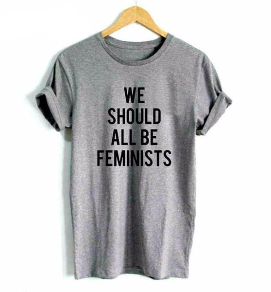 """We Should All Be Feminists"" T-Shirt - LovelyMojo"