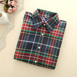 X-Mas Plaid Shirt - LovelyMojo