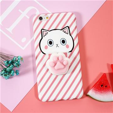 """Cat Paw"" Squishy Phone Case - LovelyMojo"
