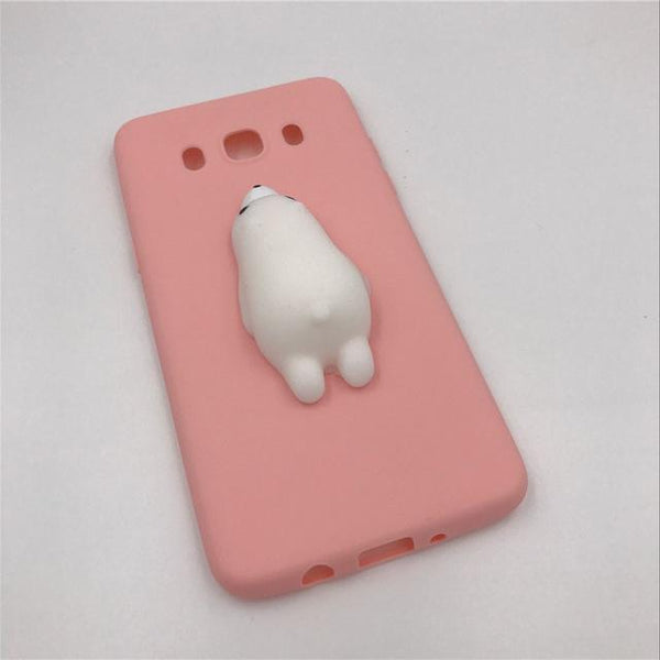 """Peach Seal"" Squishy Android Case - LovelyMojo"