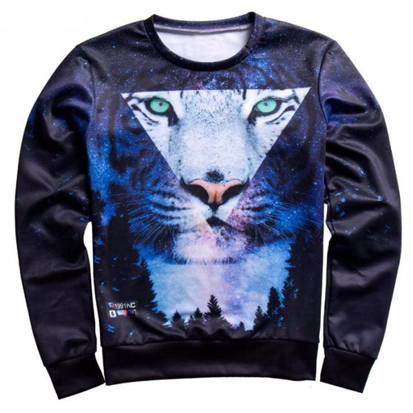 """Moonlight Tiger"" Sweatshirt - LovelyMojo"