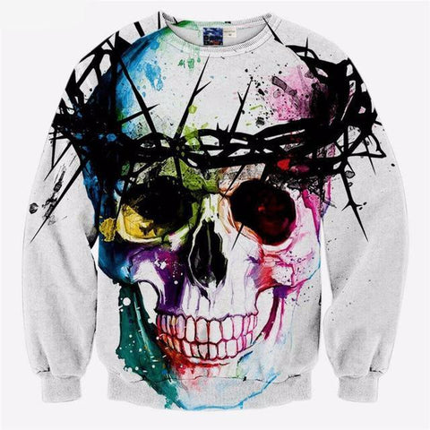"""Colorful Crown"" Sweatshirt - LovelyMojo"