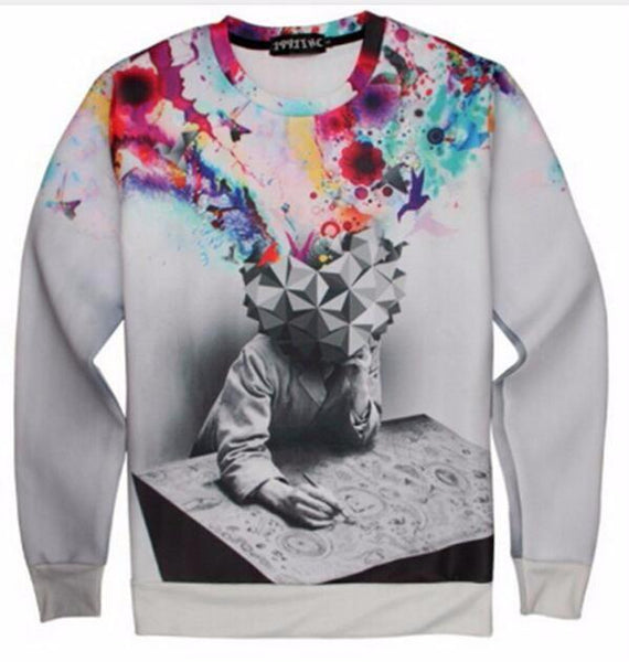 """Colorful Mind"" Sweatshirt - LovelyMojo"