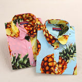 """Pineapple Print"" Shirts (Multiple Colors) - LovelyMojo"