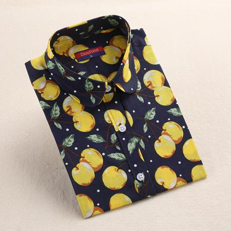 """Yellow Cherry"" Shirt - LovelyMojo"
