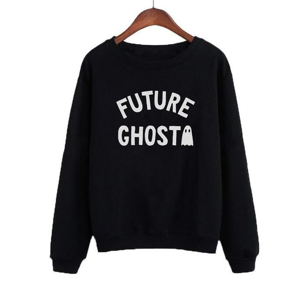 """Future Ghost"" Sweatshirt - LovelyMojo"