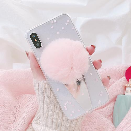 """Ice Cream Fur"" iPhone Case - LovelyMojo"