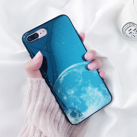 """Exotic Moon"" iPhone Case - LovelyMojo"