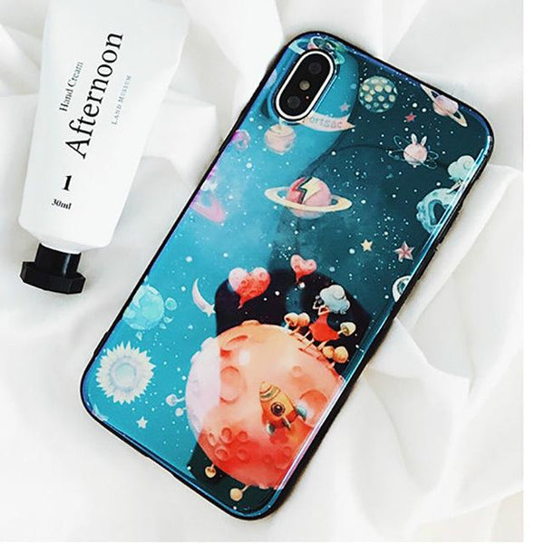 """Lets Sleep Under The Stars"" iPhone Case - LovelyMojo"