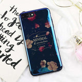 """Minimal Floral"" iPhone Case - LovelyMojo"