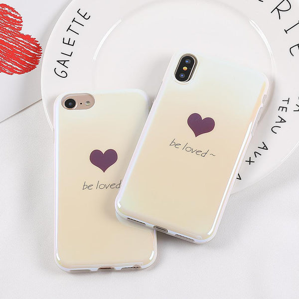 """Be Loved"" iPhone Case - LovelyMojo"