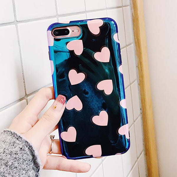 """Hearts Of Love"" iPhone Case - LovelyMojo"