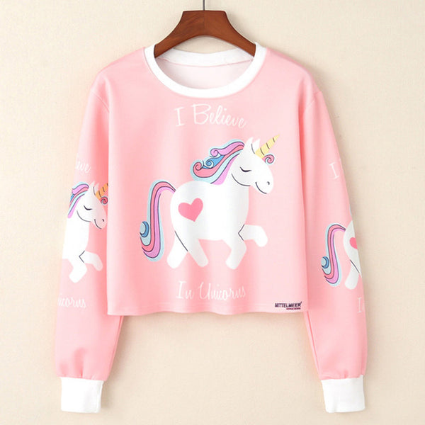 """Ride a Unicorn"" Sweatshirt"