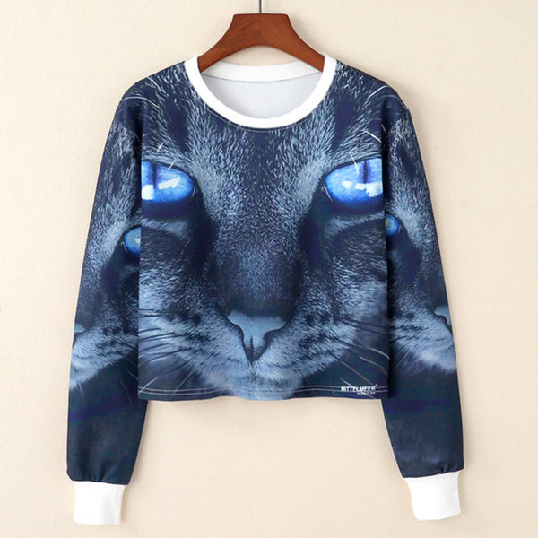 """Sharp Eyes in Dark"" Sweatshirt"