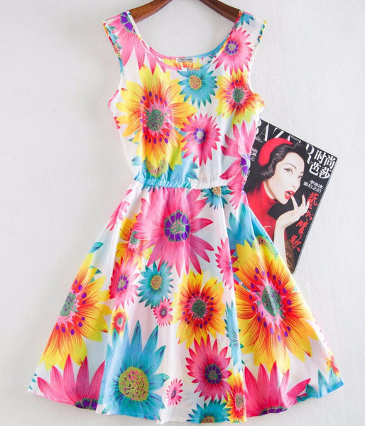 """Summer Bloom"" Dress - LovelyMojo"