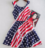 """American Flag"" Dress - LovelyMojo"