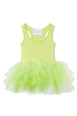 Iloveplum baby 'Harlow' green ombre tutu features a classic leotard body, a spandex racerback bodice adorned with snap closures and tons of tulle to twirl in.