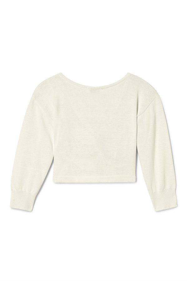 Plié Twist Sweater