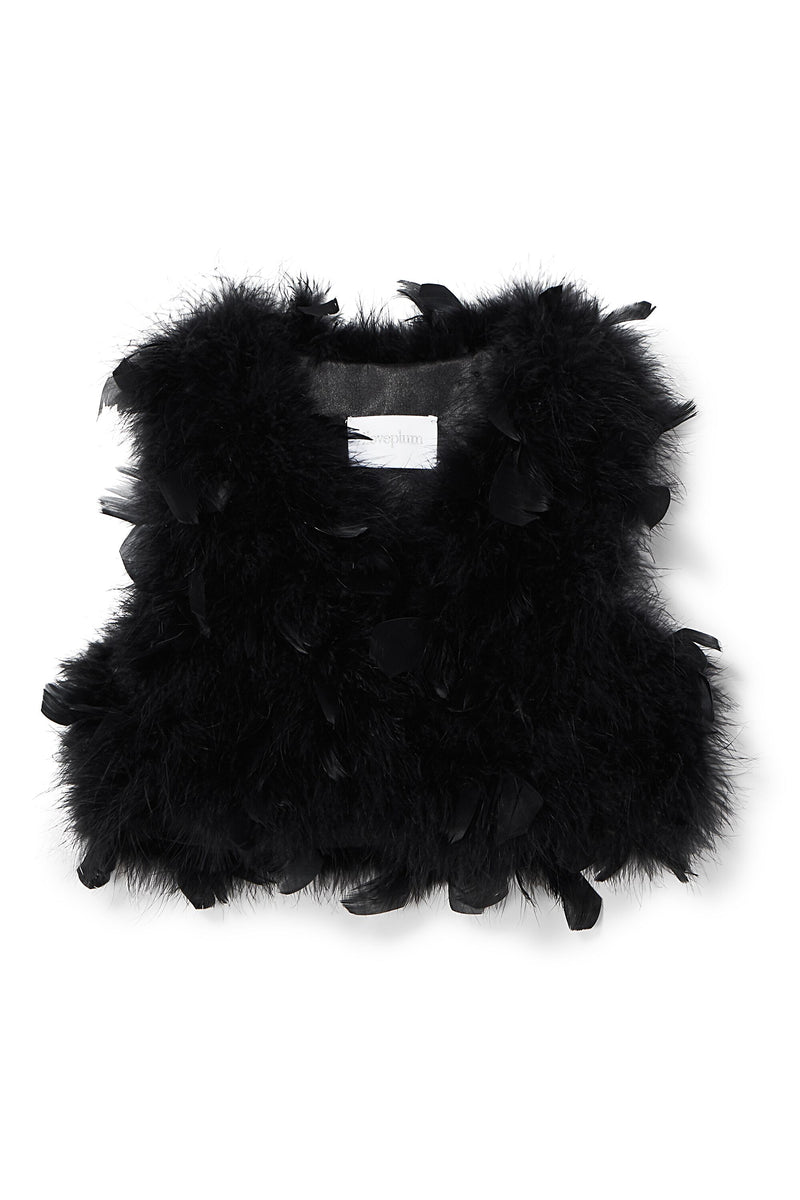 Farah Feather Vest