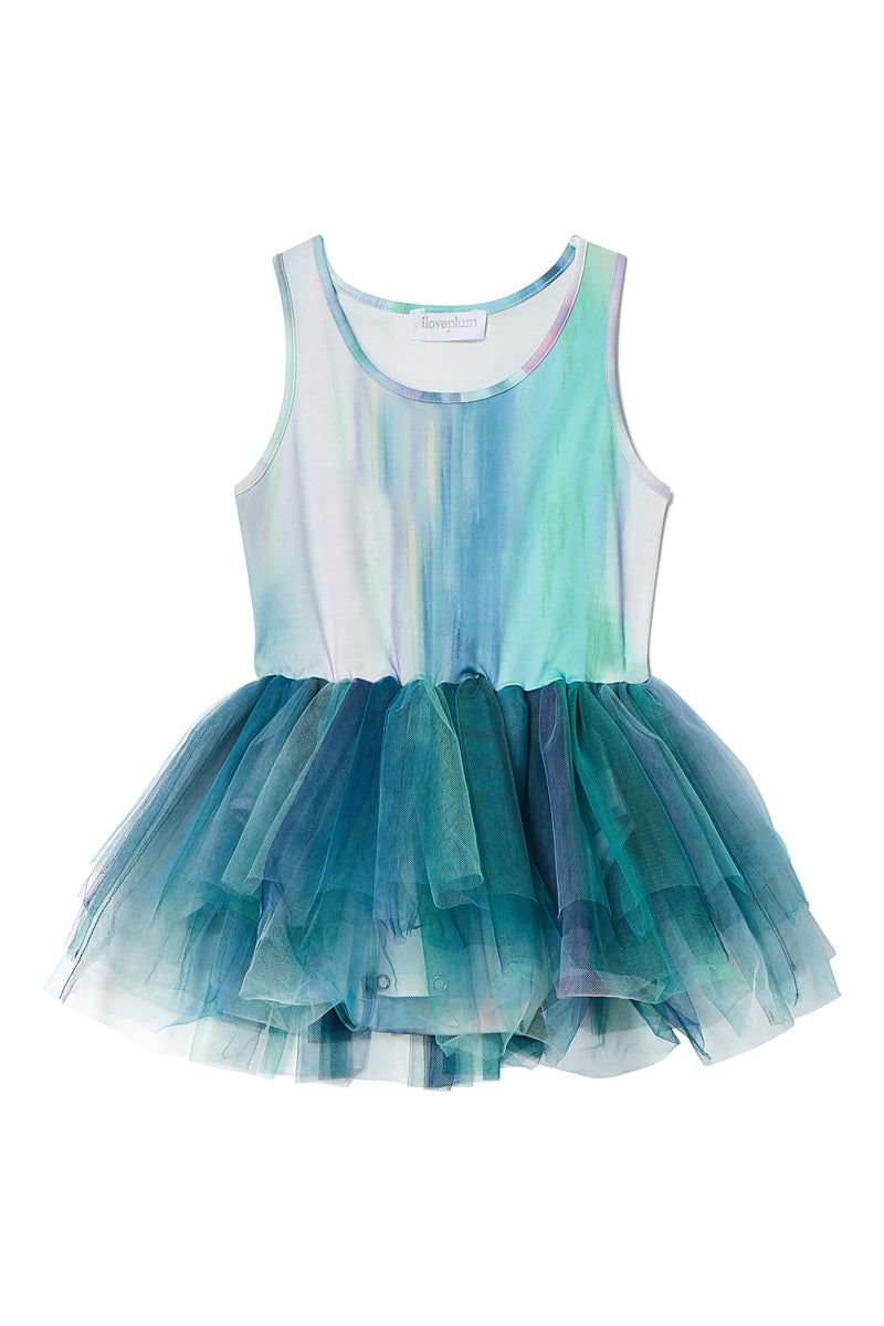 B.A.E. Watercolor Tutu Dress