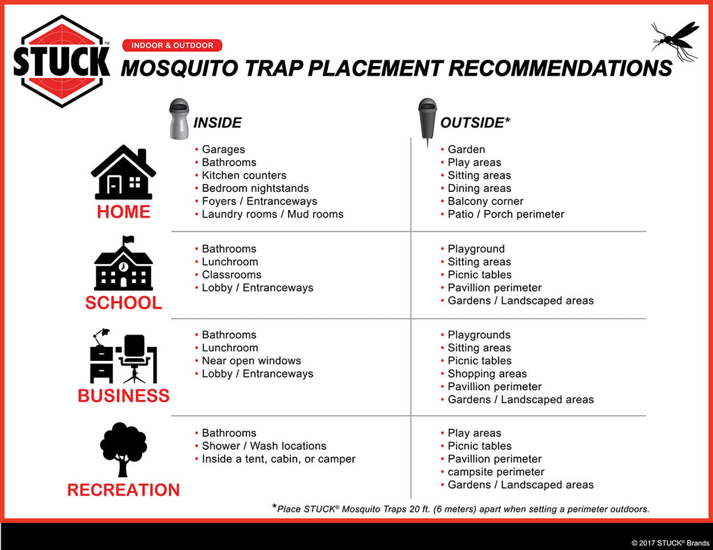 Where To Place Your Mosquito Trap