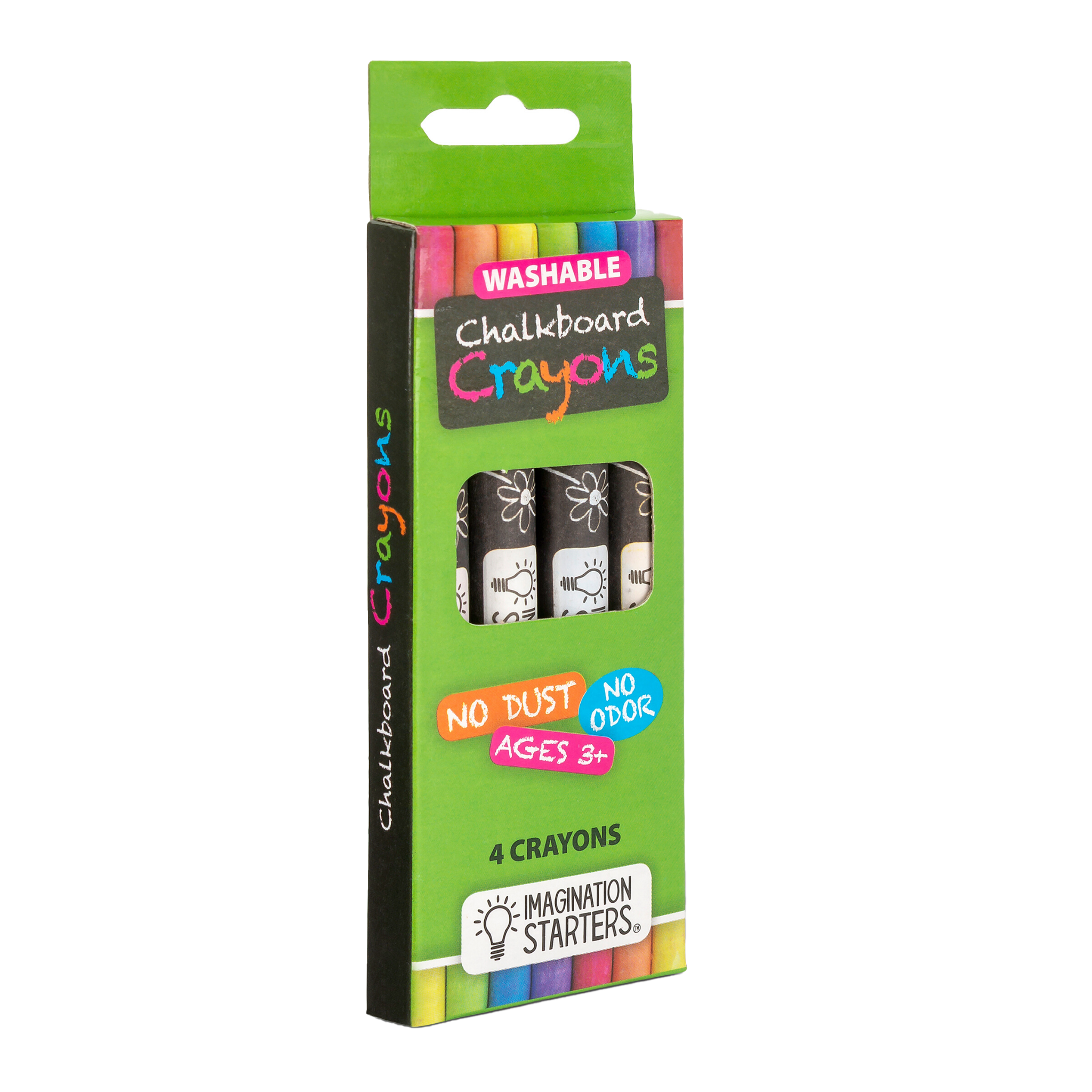 Imagination Starters - Chalkboard Crayon - Set of 4