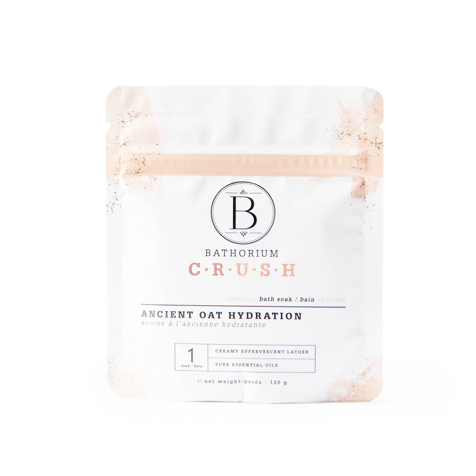 Bathorium - Ancient Oat Hydration Crush Bath Soak 120g