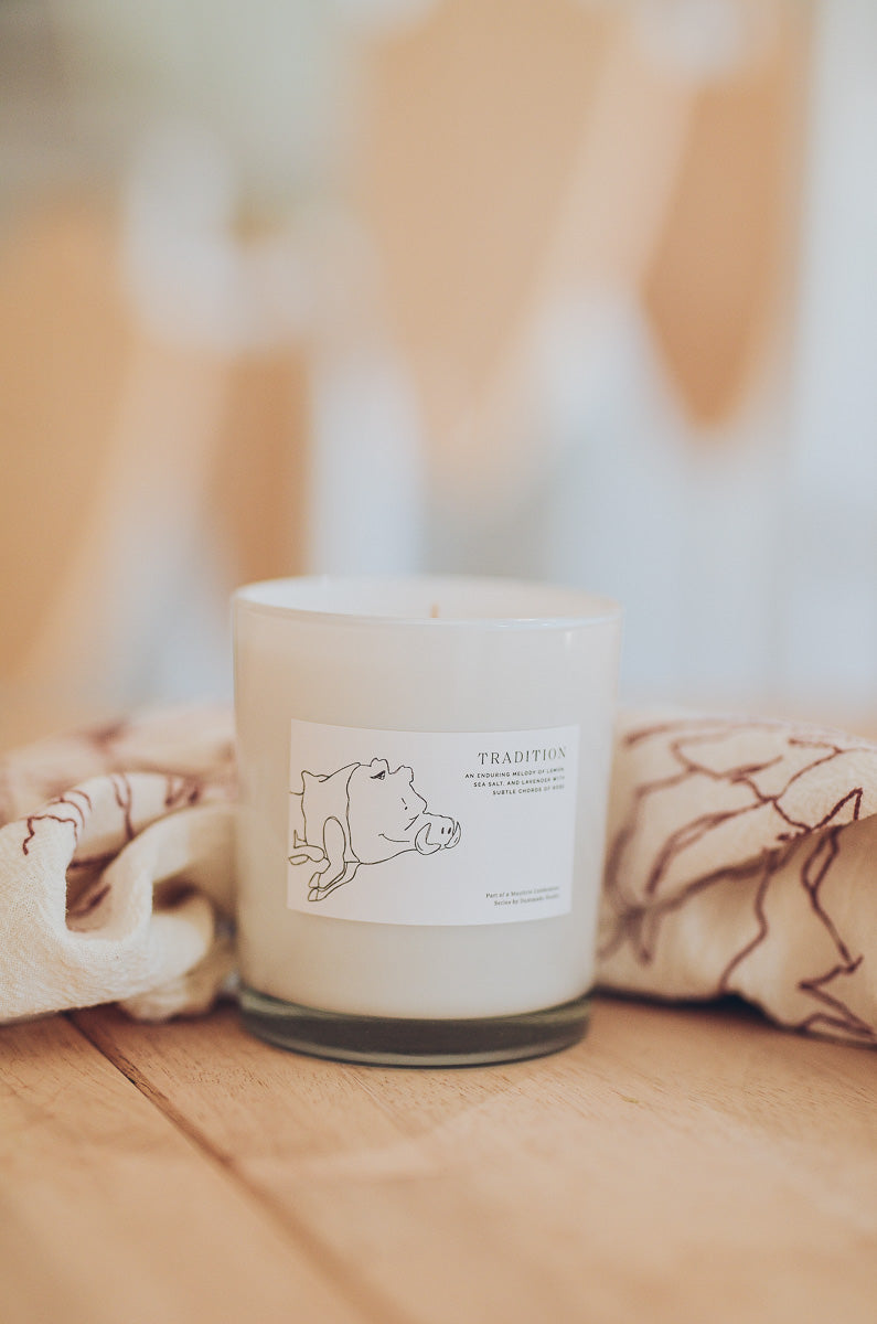Dustmade Candle - TRADITION