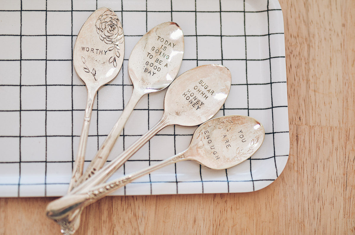 Sip and Stir Spoon Workshop with Anna Edwards