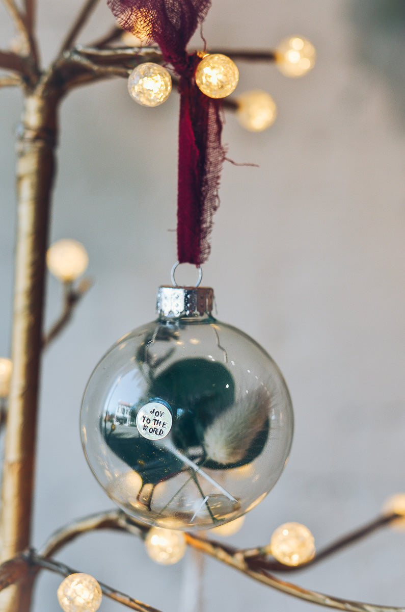 Coffee + Ornament Workshop with Anna Edwards