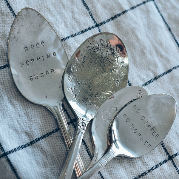 NOVEMBER 15 || Customized Spoon Workshop with ANNA EDWARDS